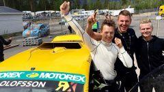 Olofson al Rallycross di Holjes