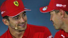 L'omaggio di Leclerc a Vettel