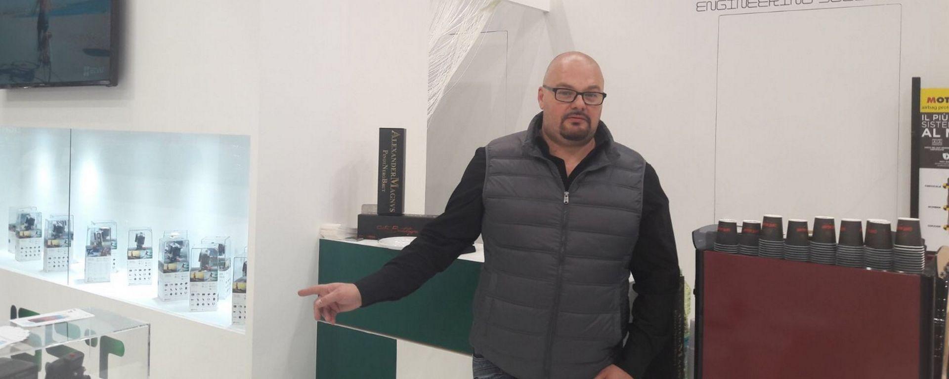 Omar Olmi, Direttore Commerciale SST