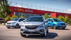 Opel a tutto SUV con la gamma X e i nuovi motori Euro 6d-TEMP - Immagine: 3
