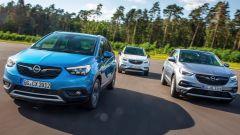 Opel a tutto SUV con la gamma X e i nuovi motori Euro 6d-TEMP - Immagine: 1