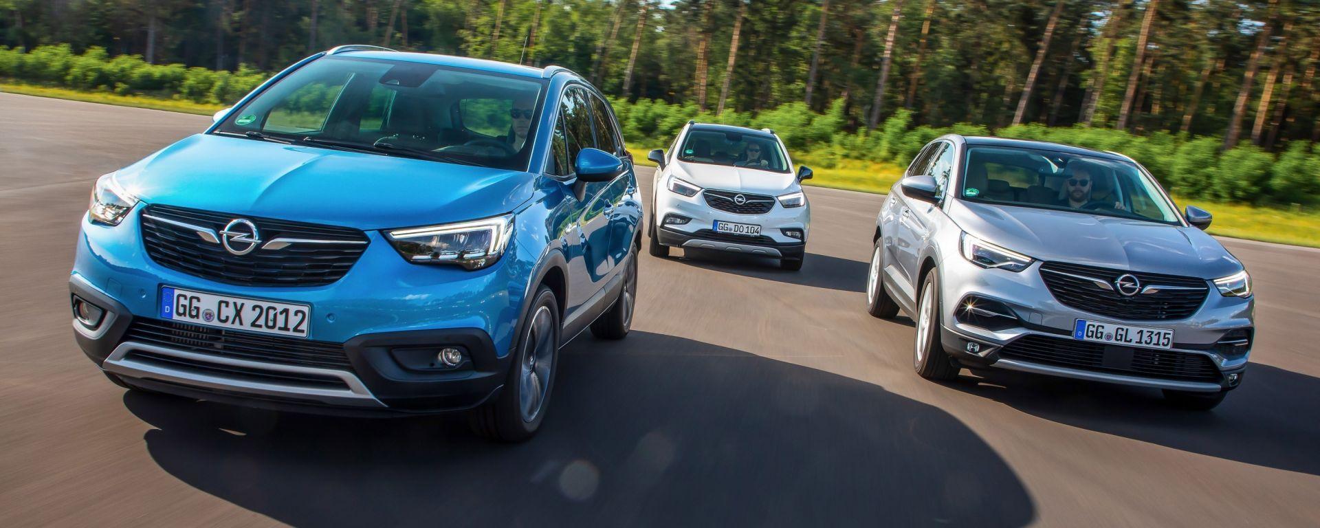 Opel a tutto SUV con la gamma X e i nuovi motori Euro 6d-TEMP