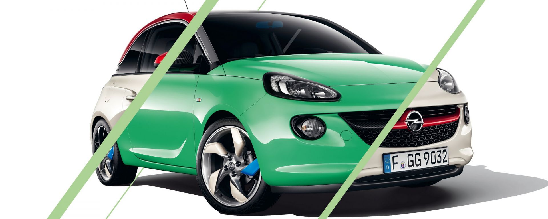 Opel Adam Unlimited e Adam Rocks Unlimited
