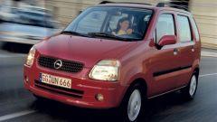 Opel Agila, arrivata sul mercato a marzo del 2000