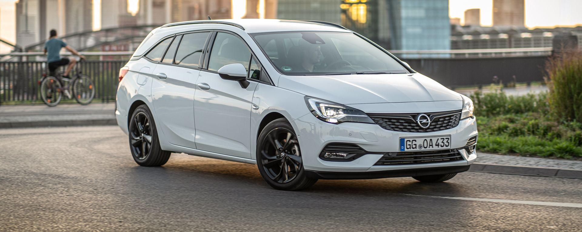 Opel Astra 2019: la variante station wagon