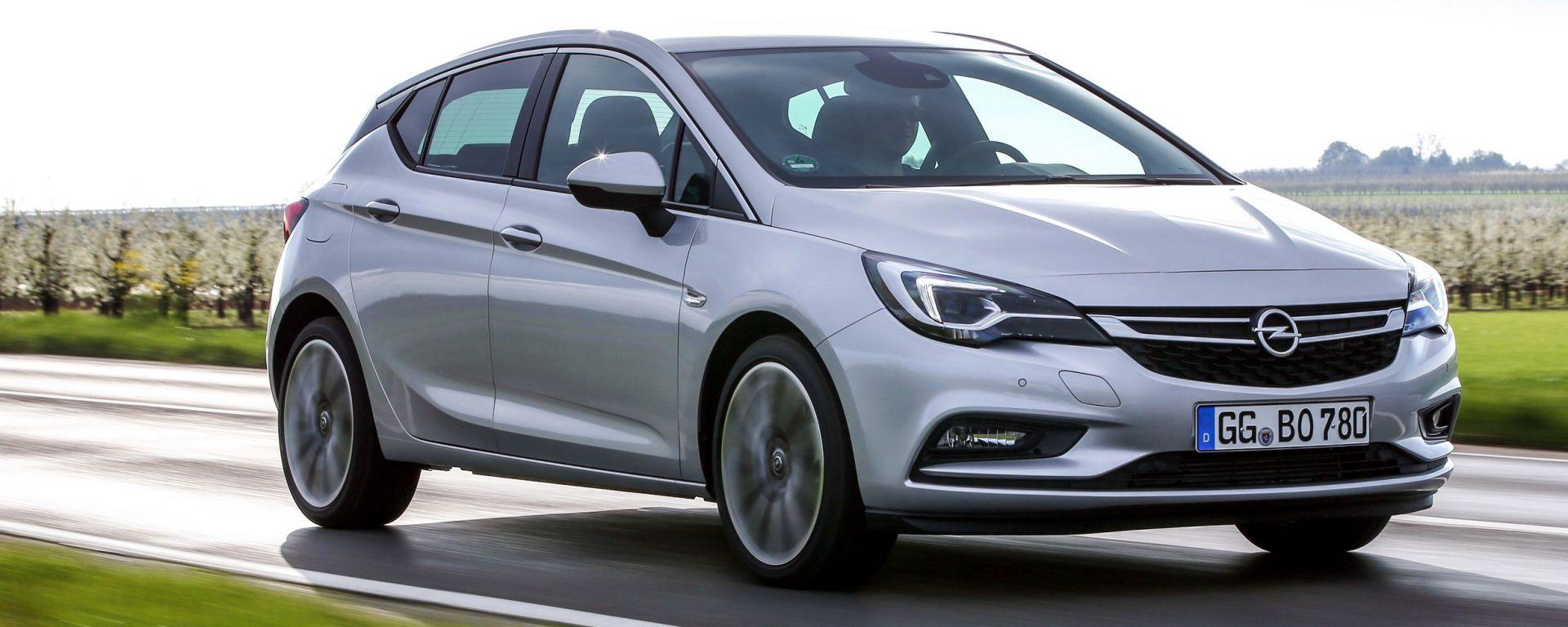 Opel Astra 5p 1.6 CDTI BiTurbo: prezzi da 27.100 euro