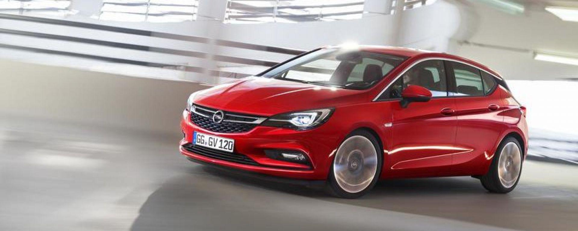 Opel Astra Auto dell'Anno 2016