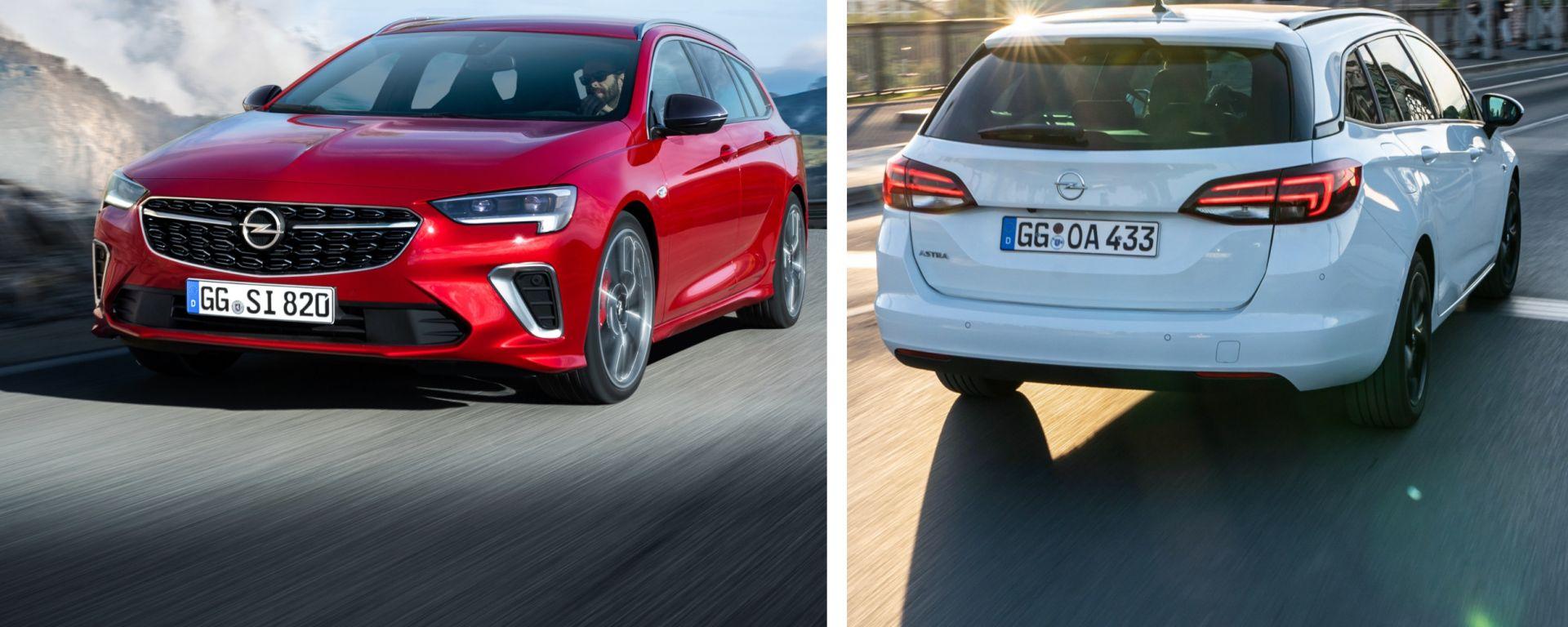 Opel Astra e Insignia Sports Tourer, la wagon conquista. Ecco perché