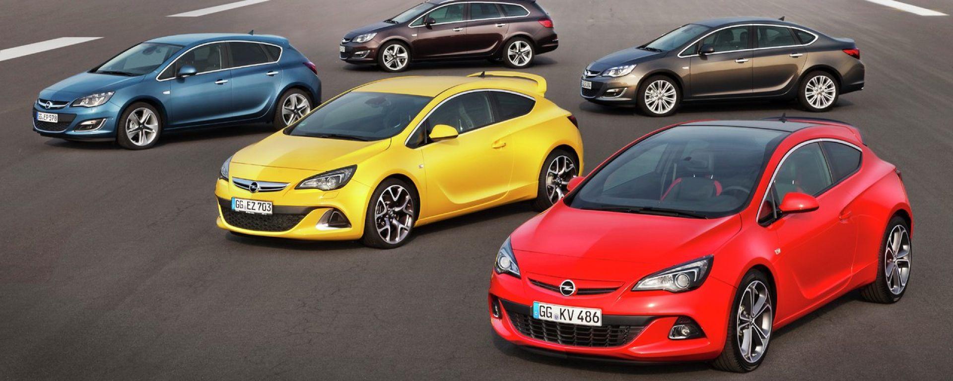 Opel Astra MY 2013