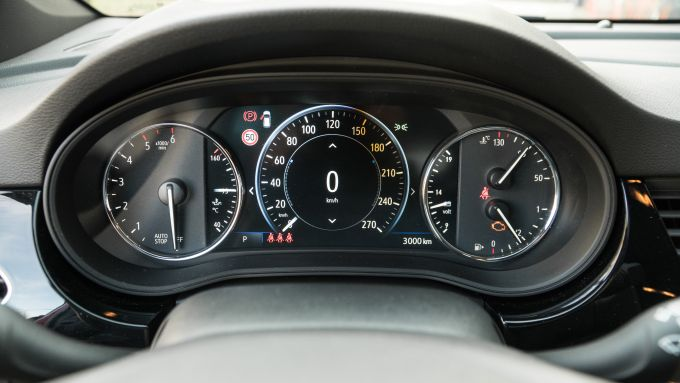 Opel Astra Ultimate: il cruscotto digitale