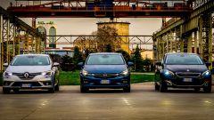 Opel Astra vs Peugeot 308 vs Renault Megane  - Immagine: 1