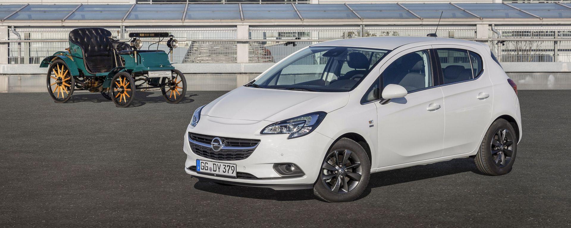 Opel Corsa 120th Anniversary: dotazioni più ricche, prezzo speciale