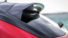 Opel Corsa-e: lo spoiler posteriore