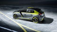 Opel Corsa e-Rally: i prototipi iniziano i test su strada