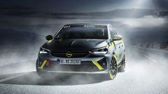 Opel Corsa-e Rally: il frontale