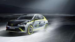 Opel Corsa-e Rally, la prima 100% elettrica