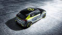 Opel Corsa e-Rally: una vista dall'alto