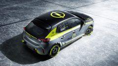 Opel Corsa-e Rally, vista dall'alto