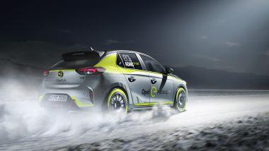Opel Corsa-e Rally, vista posteriore