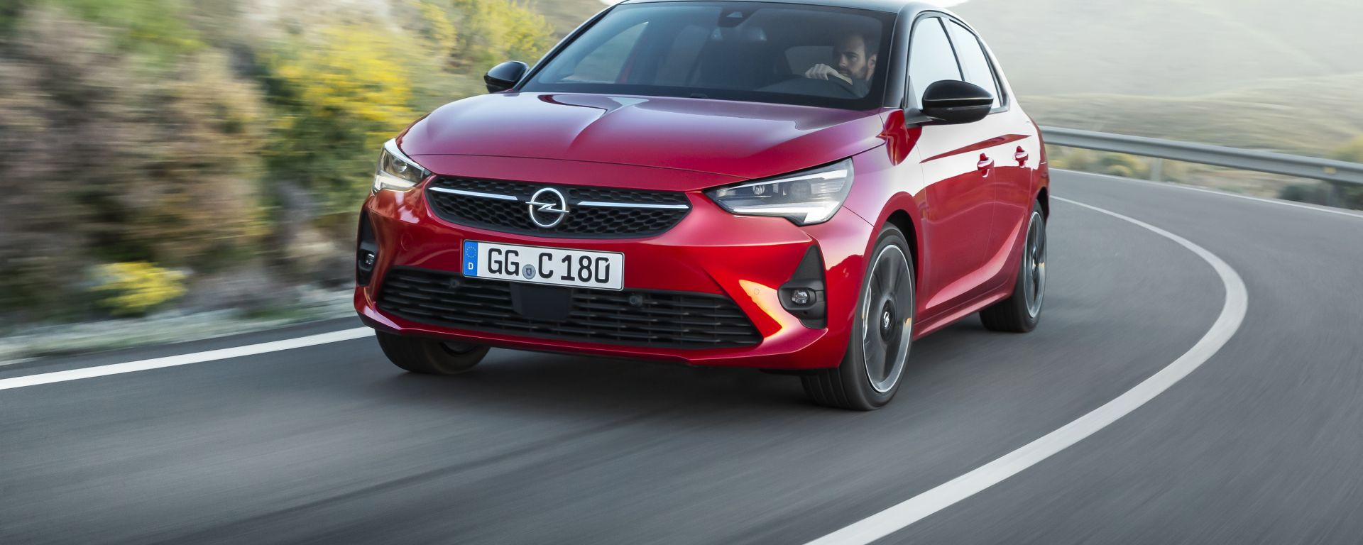 Opel Corsa frontale