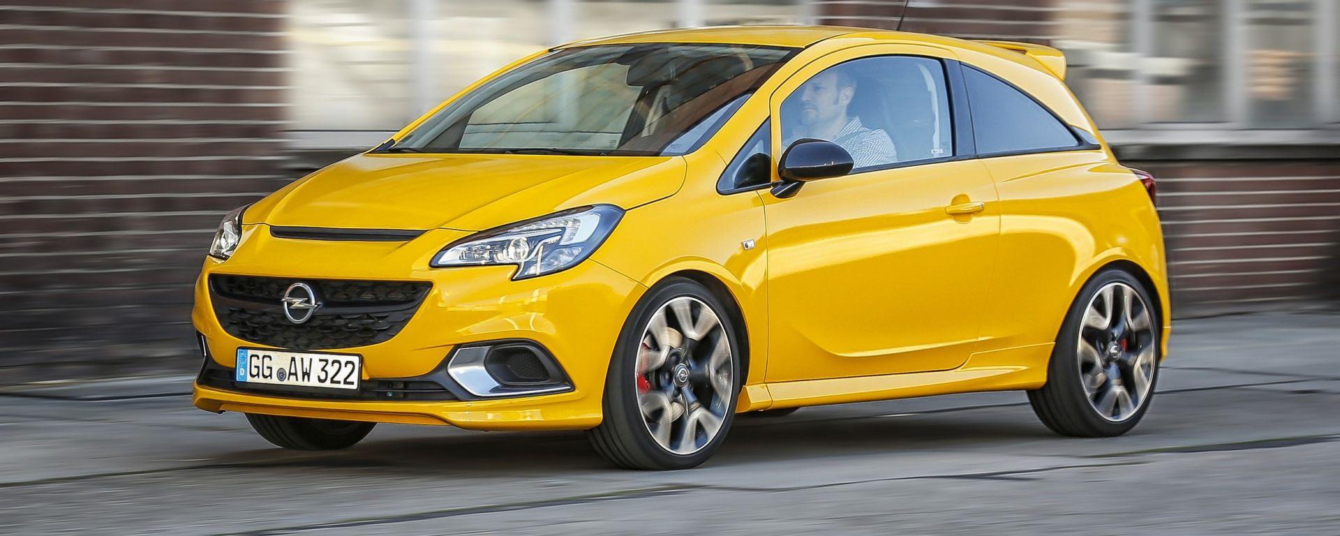 Opel Corsa GSi: ha un motore 1.4 biturbo da 150 cv