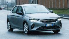 Opel Corsa vista 3/4 anteriore