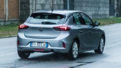 Opel Corsa vista 3/4 posteriore