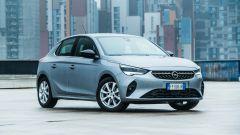 Opel Corsa vista anteriore statica