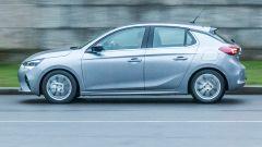 Opel Corsa vista laterale