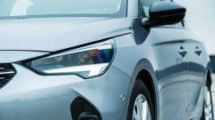 Opel Corsa vista proiettore ottico