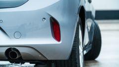 Opel Corsa vista terminale di scarico