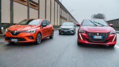 Opel Corsa vs Renault Clio vs Peugeot 208: quale la migliore delle tre?