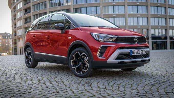 Opel Crossland 2020: frontale