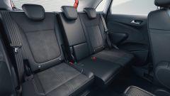 Opel Crossland 2021: il divanetto posteriore