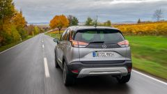 Opel Crossland 2021: il posteriore