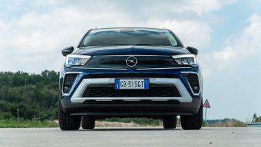 Opel Crossland Ultimate 1.5 Diesel 110 CV: il frontale