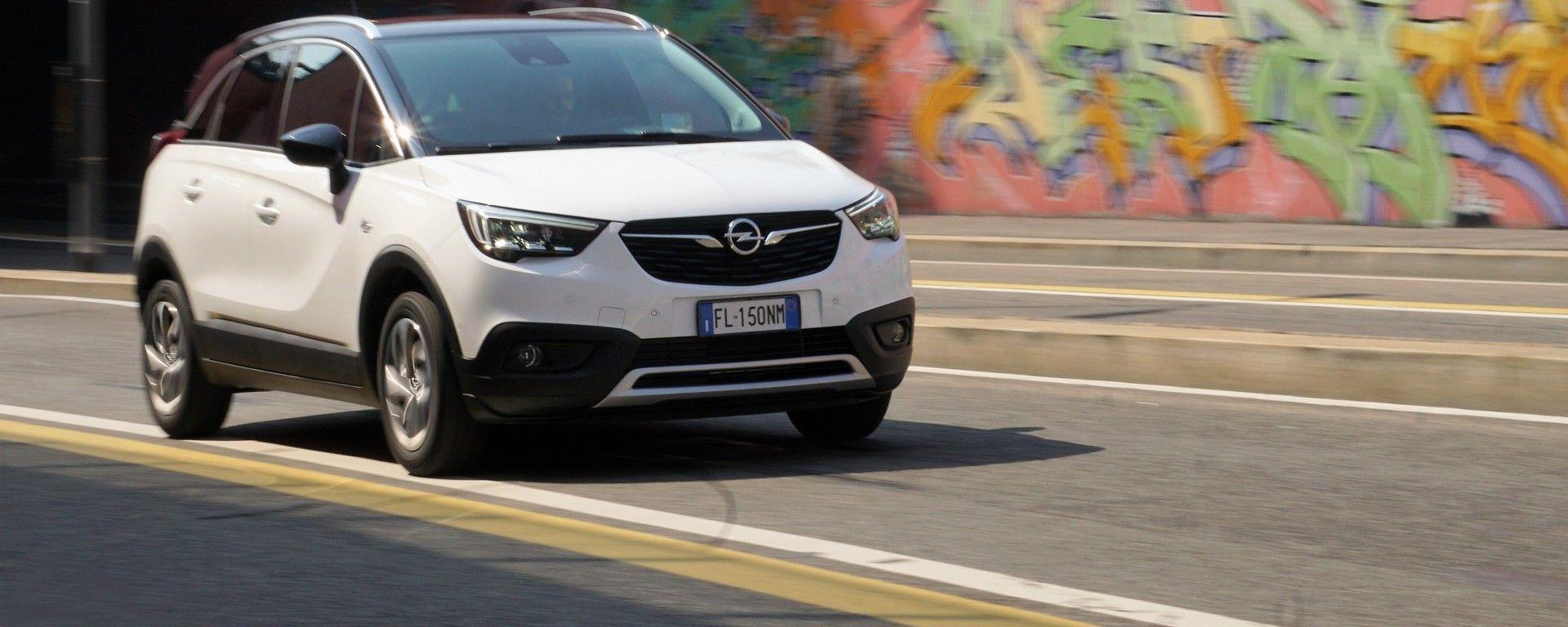 Opel Crossland X a GPL: la prova e i consumi reali