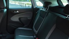 Opel Crossland X 2019: i posti posteriori