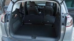 Opel Crossland X 2019: il bagagliaio da 410 a 520 litri