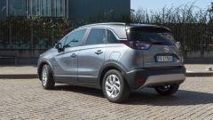 Opel Crossland X 2019: il posteriore