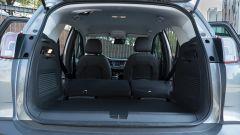 Opel Crossland X 2019: la panca scorrevole di 15 cm