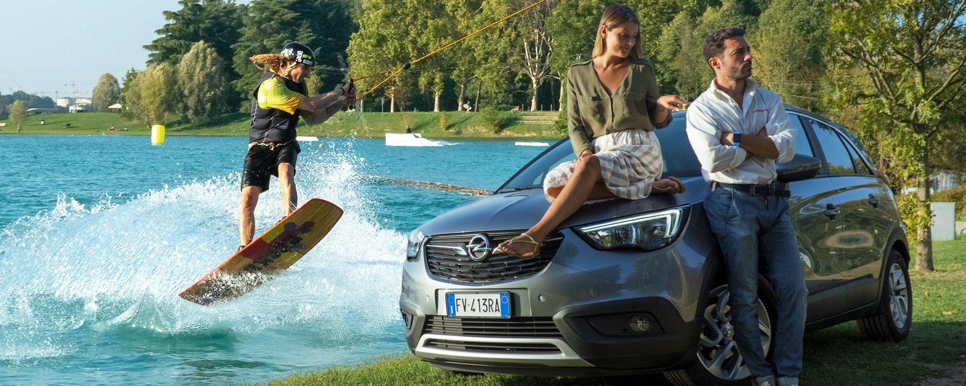 Opel Crossland X 2019: praticità al top e spazio per ogni cosa