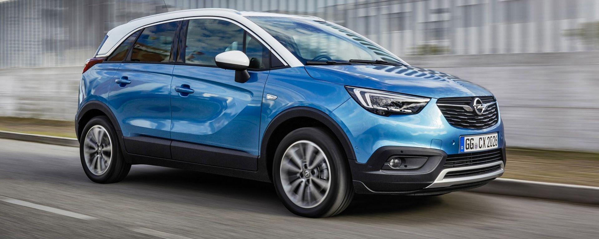 Opel Crossland X: con il 1.5 diesel c'è il cambio automatico