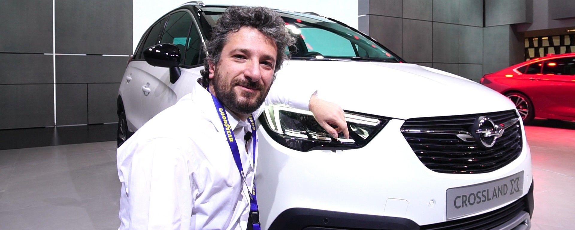 Opel Crossland X: in video dal Salone di Ginevra 2017