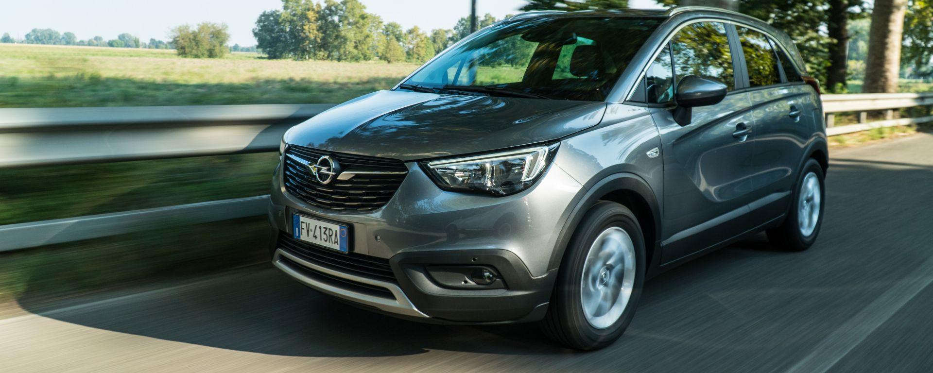 Opel Crossland X: spazio e praticità alla massima potenza