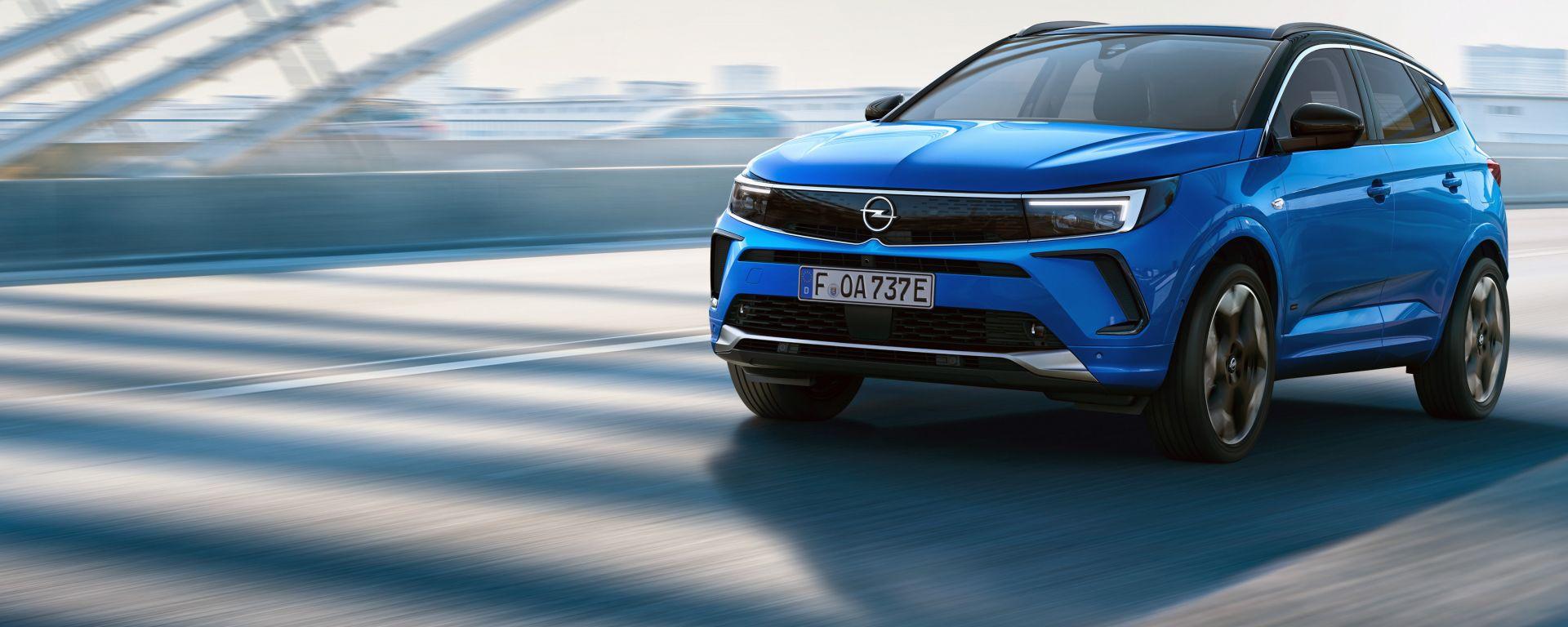 Opel Grandland 2021, fotogallery