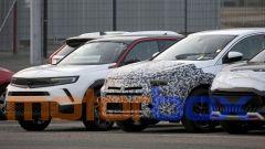 Opel Grandland 2022, le prime foto del restyling