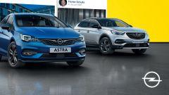 Opel Grandland, Crossland e Astra restyling: nuovo allestimento