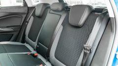 Opel Grandland X Hybrid4: il divanetto posteriore