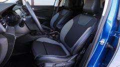 Opel Grandland X: i sedili sono comodi e non stancano anche dopo ore di viaggio